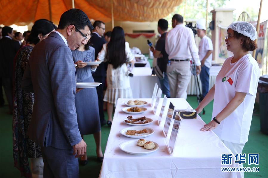 (XHDW)中国美食亮相巴基斯坦白沙瓦