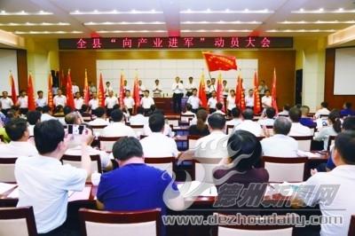 武城:落实新发展理念推动高质量发展