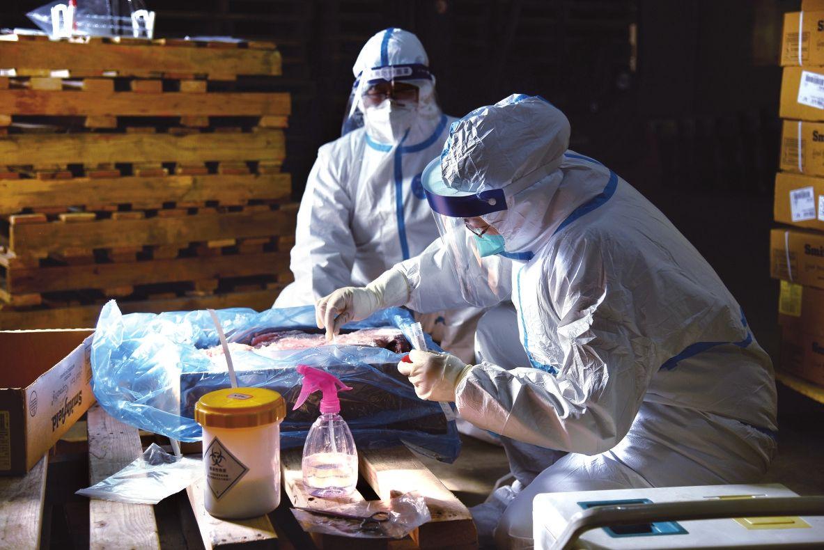 德州进口冷链食品集中监管专仓举行应急演练